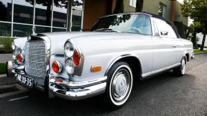 1963 Mercedes 220SE Cabriolet